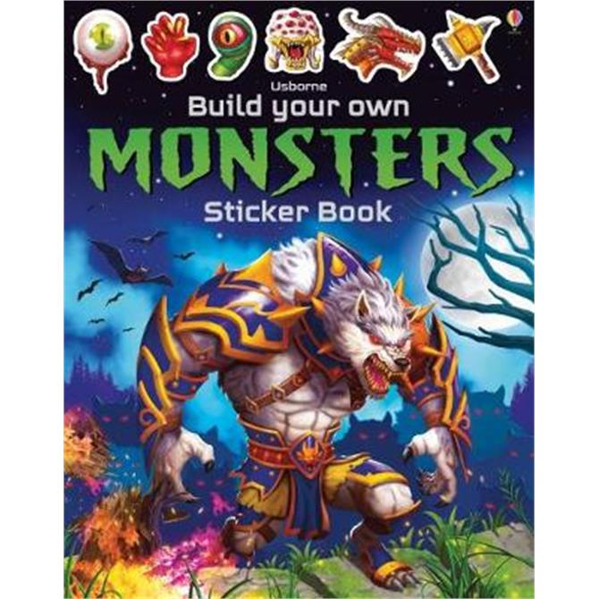Build Your Own Monsters Sticker Book (Paperback) - Simon Tudhope