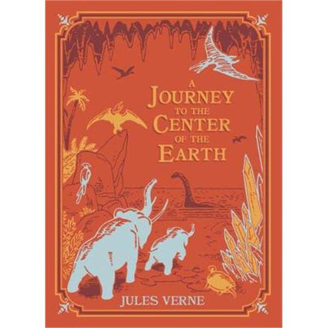 A Journey to the Center of the Earth (Barnes & Noble Children's Leatherbound Classics) (Hardback) - Jules Vernes