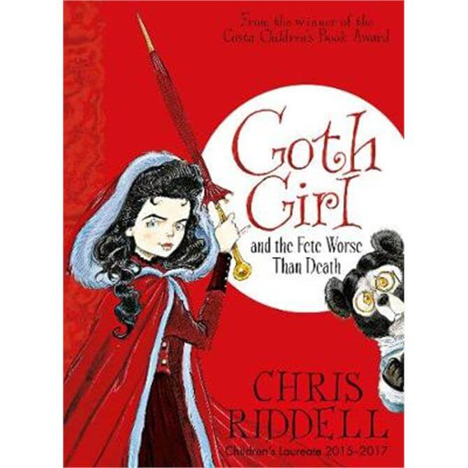 Goth Girl and the Fete Worse Than Death (Paperback) - Chris Riddell