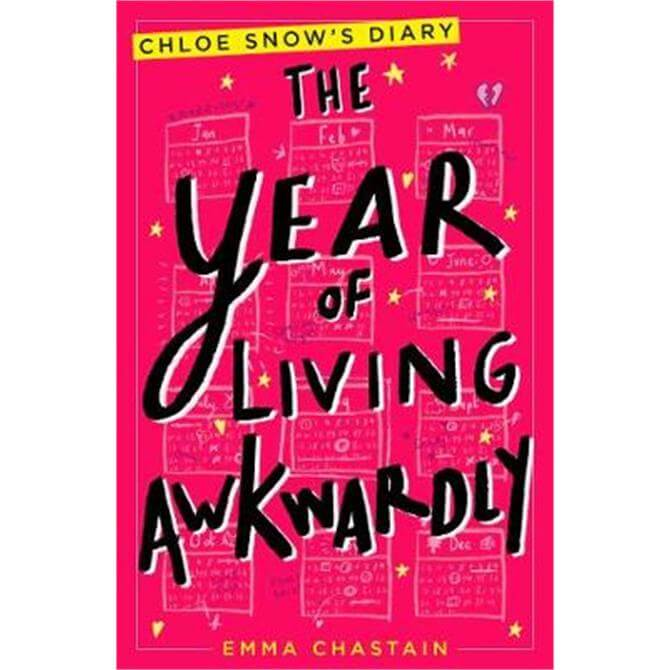 The Year of Living Awkwardly (Paperback) - Emma Chastain