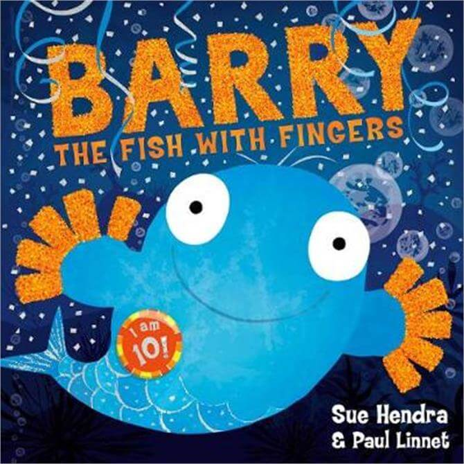 Barry the Fish with Fingers Anniversary Edition (Paperback) - Sue Hendra
