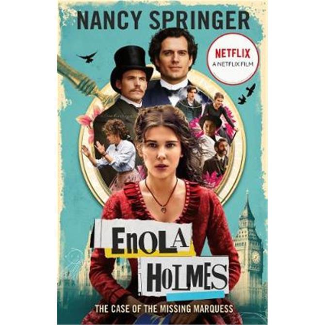Enola Holmes (Paperback) - Nancy Springer