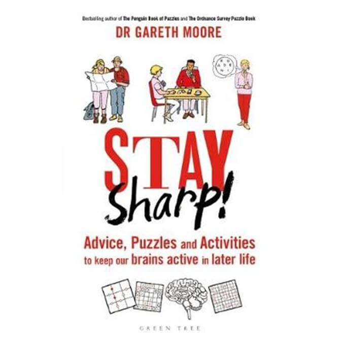 Stay Sharp! (Hardback) - Dr Gareth Moore
