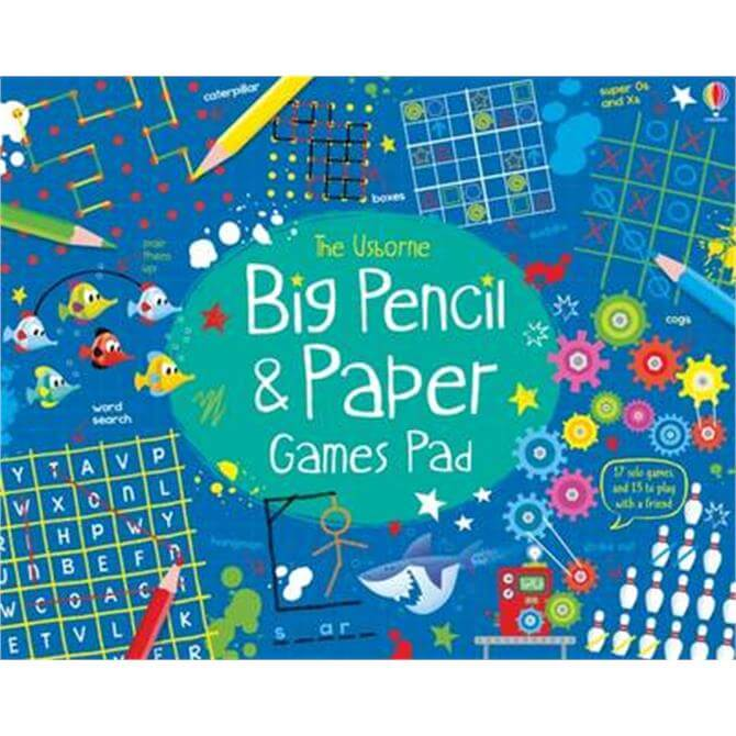 Big Pencil and Paper Games Pad (Paperback) - Simon Tudhope