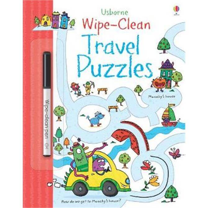 Wipe-clean Travel Puzzles (Paperback) - Jane Bingham