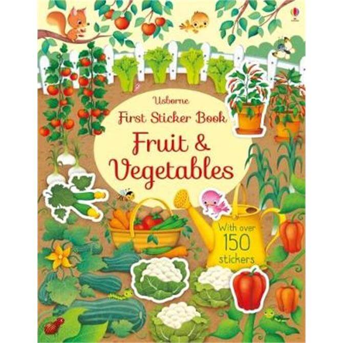 First Sticker Book Fruit and Vegetables (Paperback) - Hannah Watson