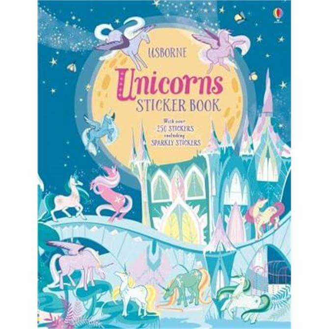 Unicorns Sticker Book (Paperback) - Fiona Watt