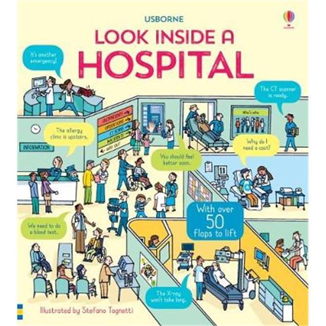 Look Inside a Hospital - Katie Daynes