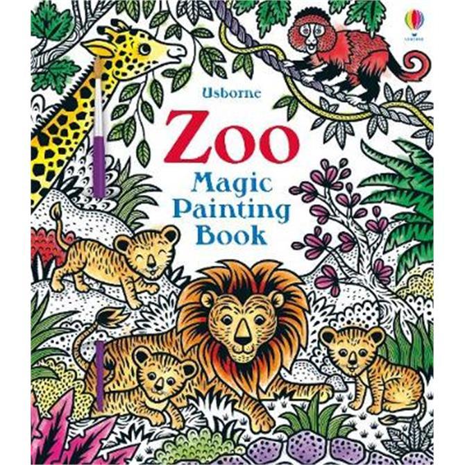 Zoo Magic Painting Book (Paperback) - Federica Iossa