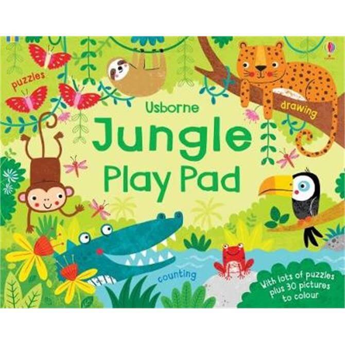 Jungle Play Pad (Paperback) - Kirsteen Robson