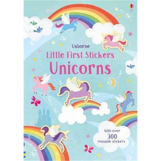 Little First Stickers Unicorns (Paperback) - Hannah Watson