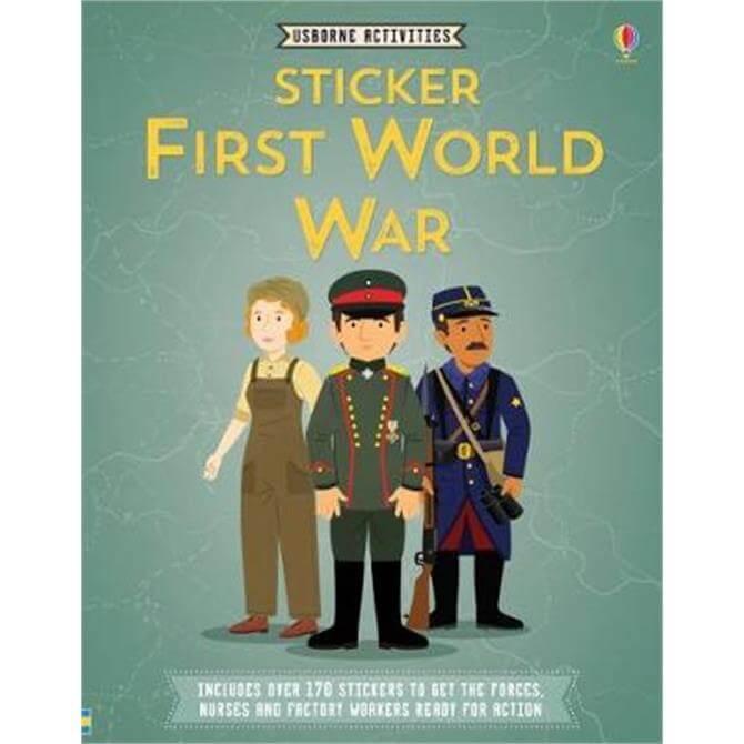 Sticker First World War (Paperback) - Struan Reid