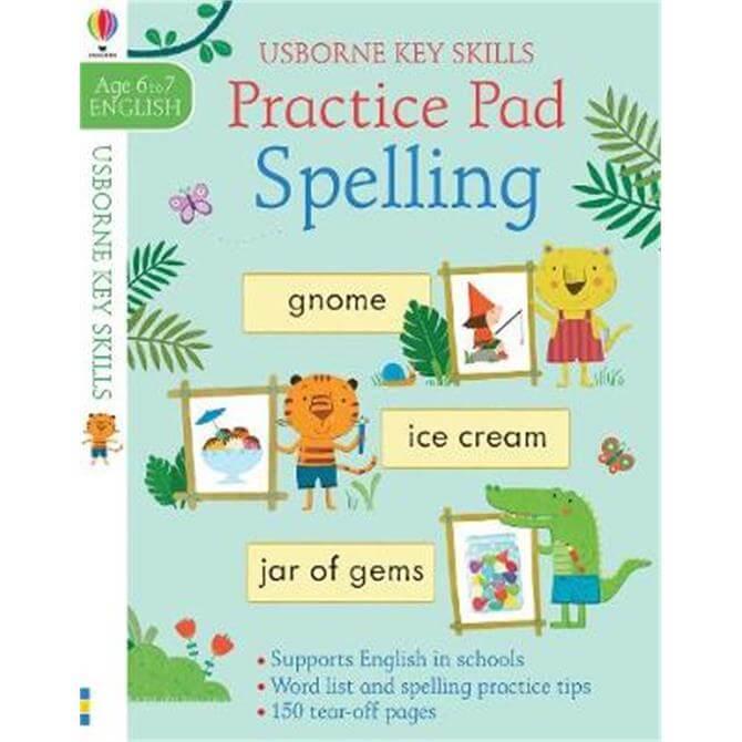 Spelling Practice Pad 6-7 (Paperback) - Kirsteen Robson
