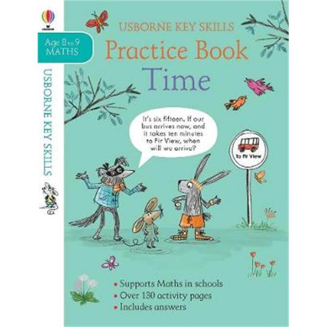 Time Practice Book 8-9 (Paperback) - Holly Bathie
