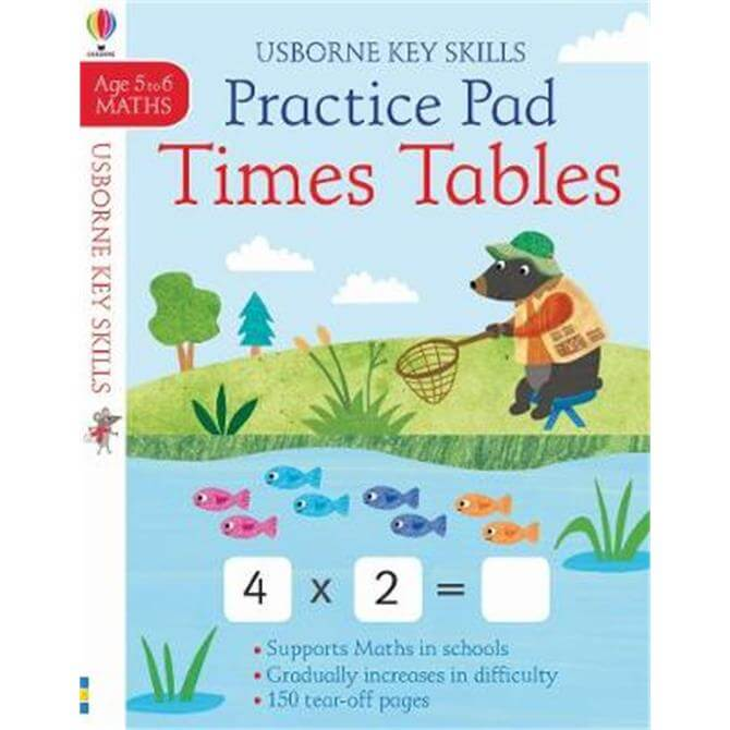 Times Tables Practice Pad 5-6 (Paperback) - Sam Smith