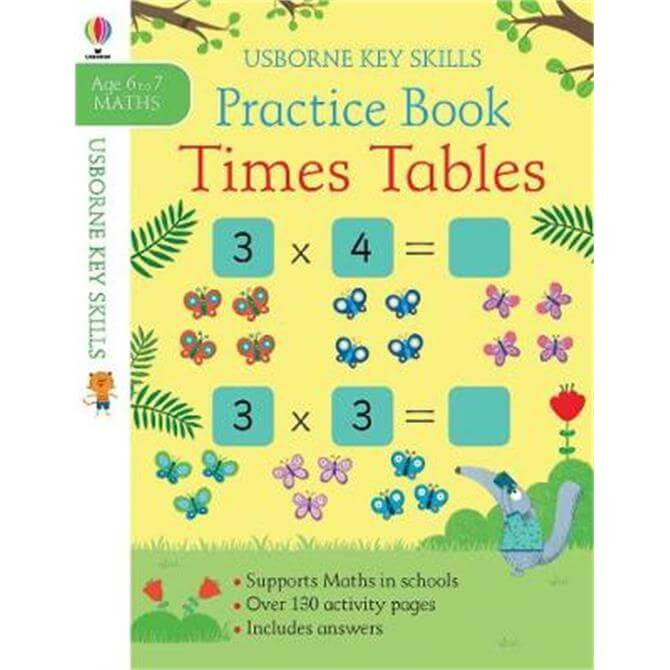 Times Tables Practice Book 6-7 (Paperback) - Sam Smith