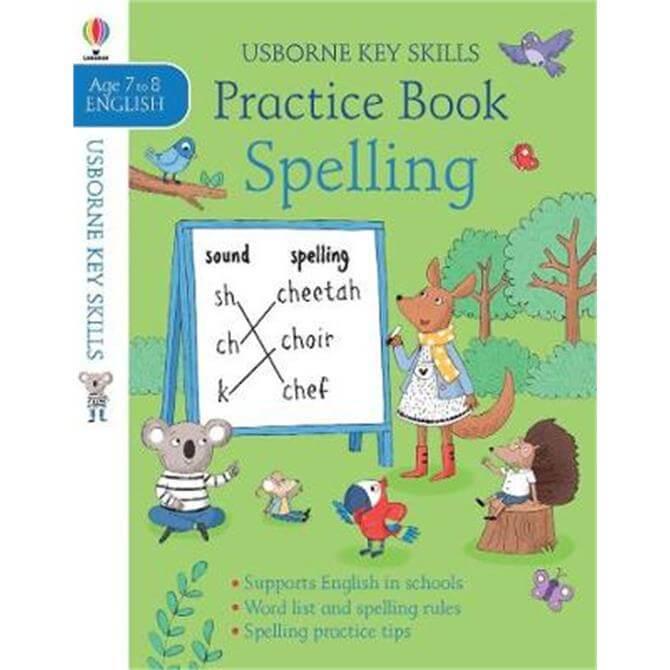 Spelling Practice Book 7-8 (Paperback) - Kirsteen Robson