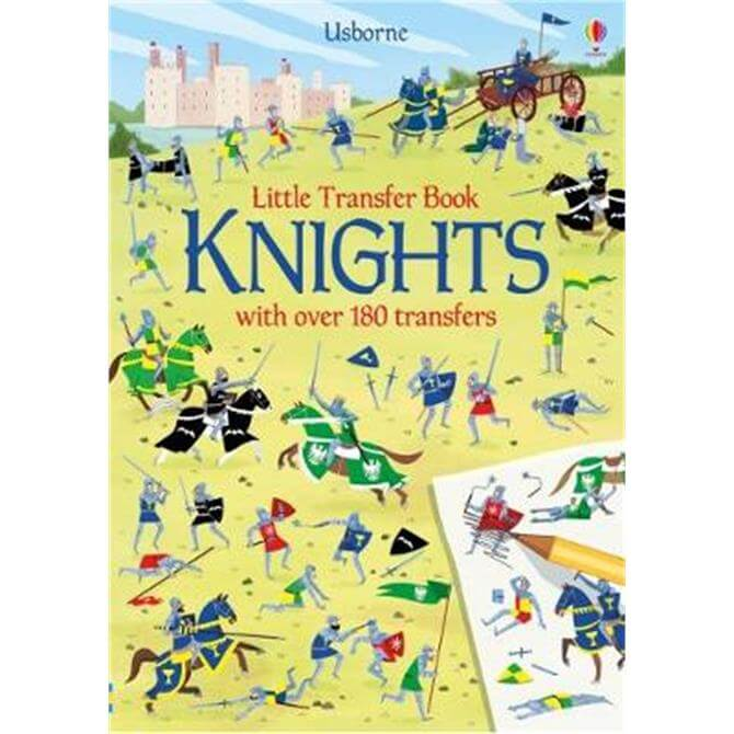 Knights Transfer Activity Book (Paperback) - Abigail Wheatley