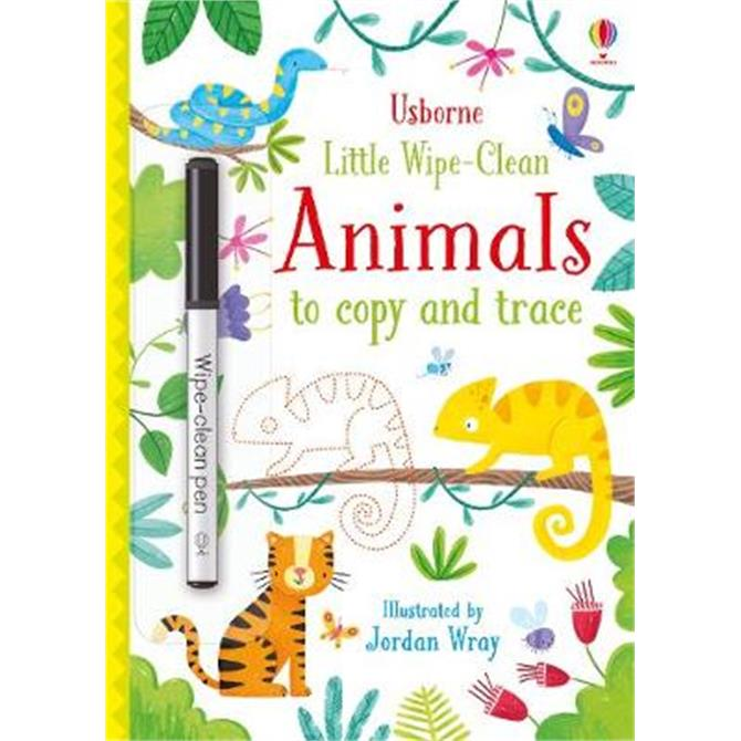 Little Wipe-Clean Animals to Copy and Trace (Paperback) - Kirsteen Robson