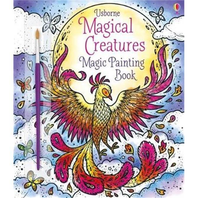 Magical Creatures Magic Painting Book (Paperback) - Abigail Wheatley