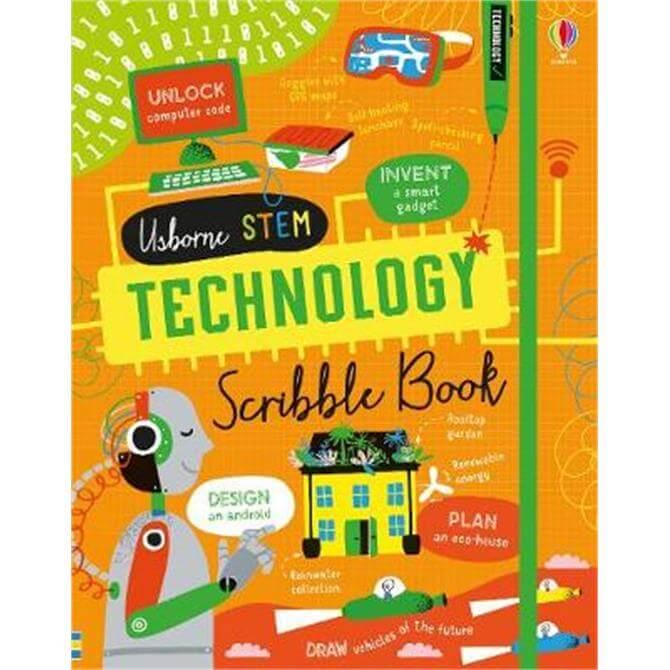 Technology Scribble Book (Hardback) - Alice James