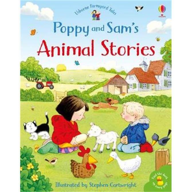 Poppy and Sam's Animal Stories (Hardback) - Heather Amery