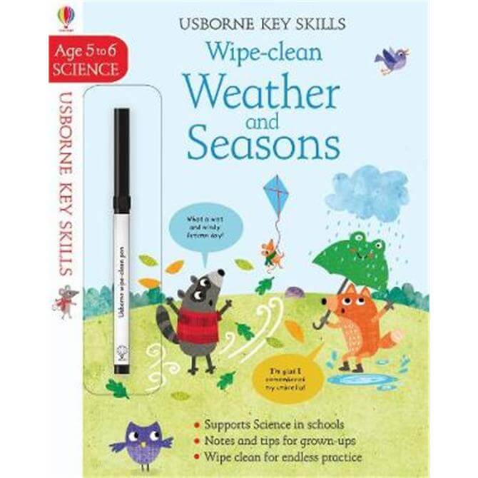 Wipe-Clean Weather and Seasons 5-6 (Paperback) - Holly Bathie