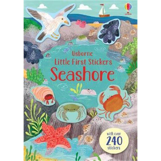 Little First Stickers Seashore (Paperback) - Jessica Greenwell