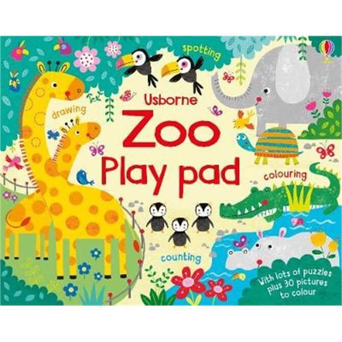 Zoo Play Pad (Paperback) - Kirsteen Robson