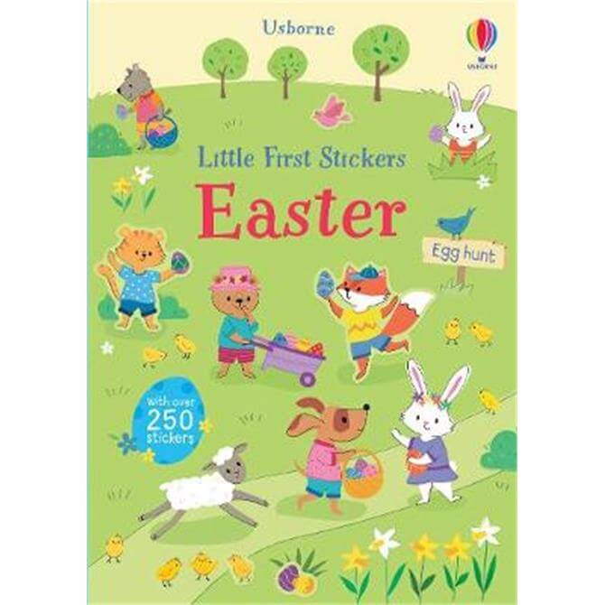 Little First Stickers Easter (Paperback) - Felicity Brooks