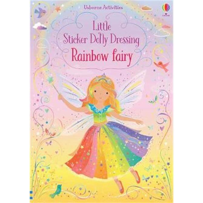 Little Sticker Dolly Dressing Rainbow Fairy (Paperback) - Fiona Watt