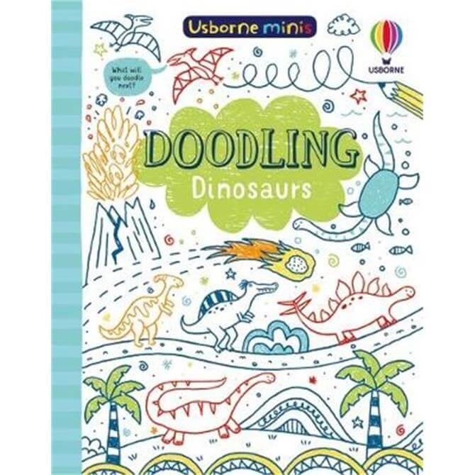 Doodling Dinosaurs (Paperback) - Simon Tudhope
