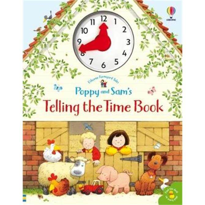 Poppy and Sam's Telling the Time Book - Heather Amery