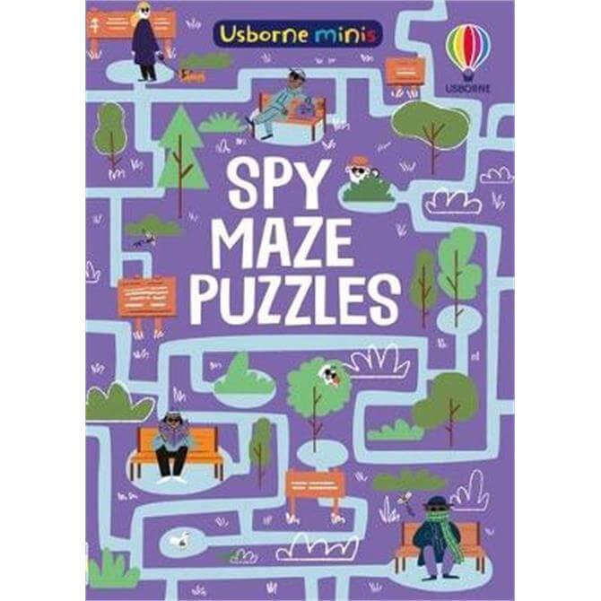 Spy Maze Puzzles (Paperback) - Kate Nolan