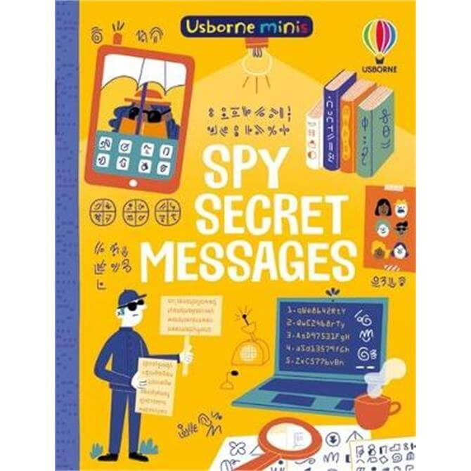 Spy Secret Messages (Paperback) - Simon Tudhope