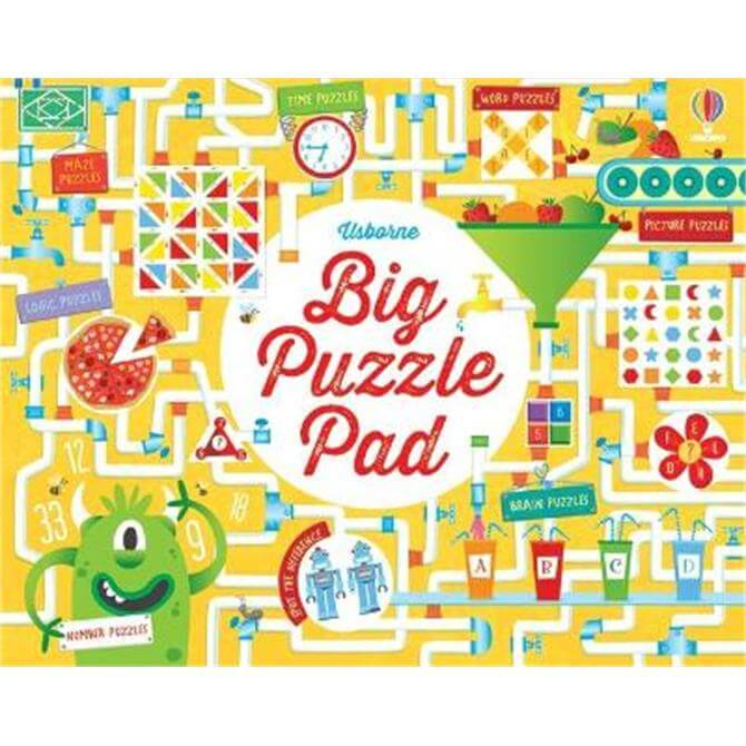 Big Puzzle Pad (Paperback) - Kirsteen Robson