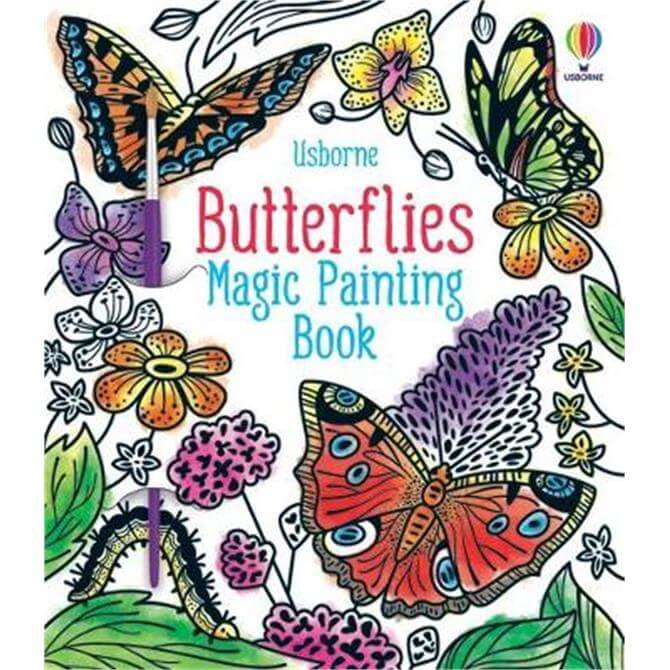 Butterflies Magic Painting Book (Paperback) - Abigail Wheatley