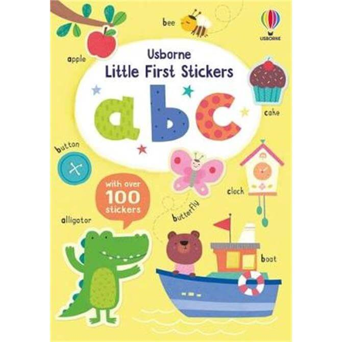 Little First Stickers ABC (Paperback) - Felicity Brooks
