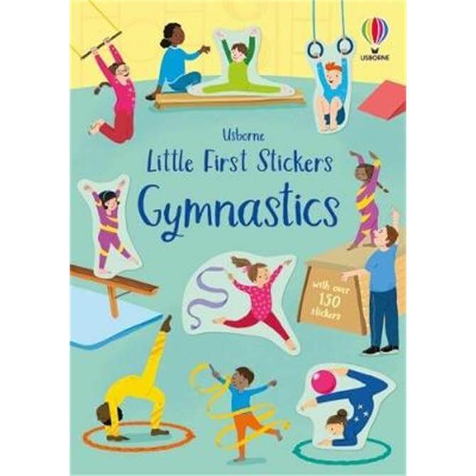 Little First Stickers Gymnastics (Paperback) - Jessica Greenwell