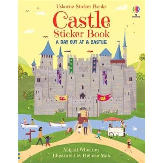 Castle Sticker Book (Paperback) - Heloise Mab