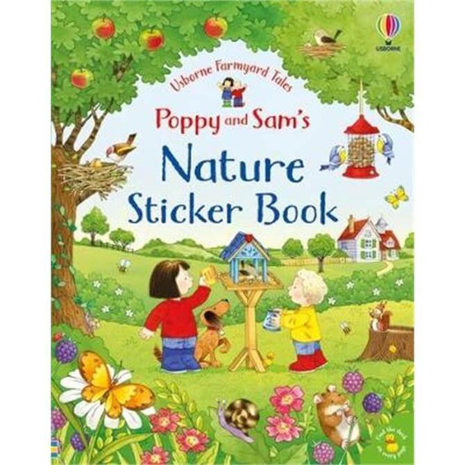 Poppy and Sam's Nature Sticker Book (Paperback) - Kate Nolan