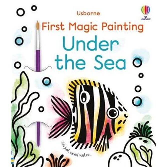 First Magic Painting Under the Sea (Paperback) - Emily Beevers
