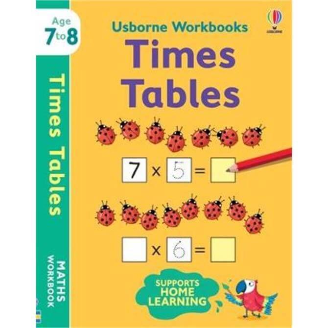 Usborne Workbooks Times Tables 7-8 (Paperback) - Holly Bathie