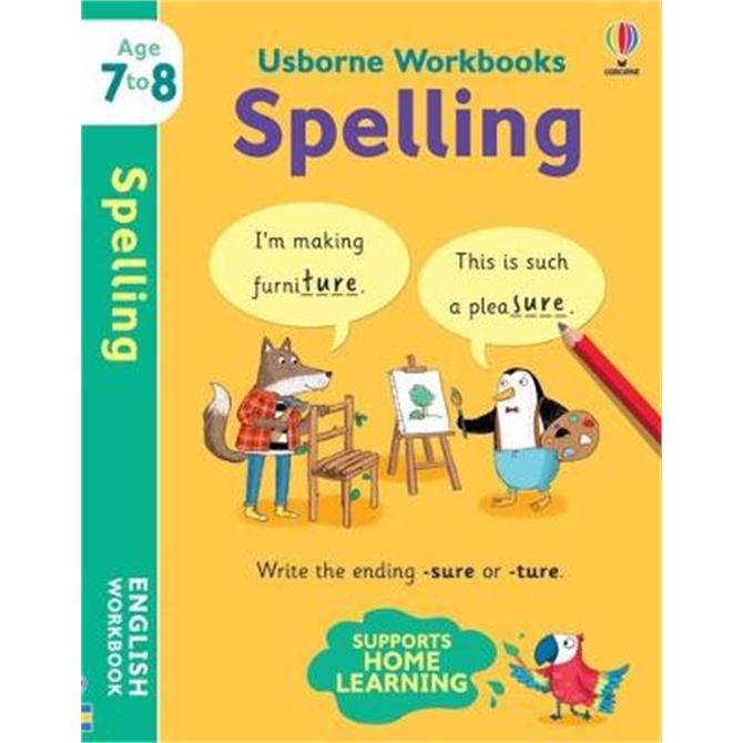 Usborne Workbooks Spelling 7-8 (Paperback) - Jane Bingham (EDFR)