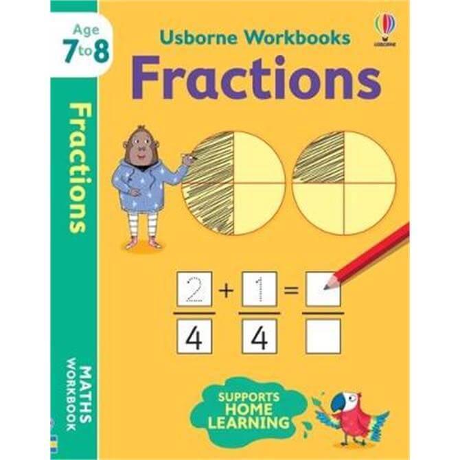 Usborne Workbooks Fractions 7-8 (Paperback) - Holly Bathie
