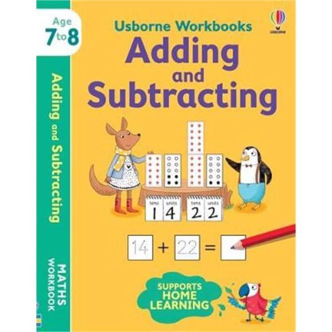 Usborne Workbooks Adding and Subtracting 7-8 (Paperback) - Holly Bathie