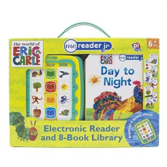 The World of Eric Carle   Me Reader Jr. Electronic Reader and 8-Book Library - Emily Skwish