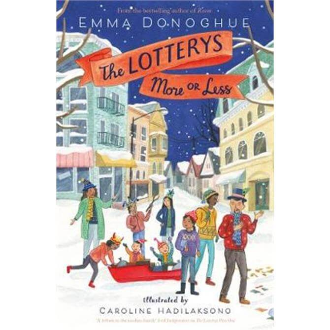 The Lotterys More or Less (Paperback) - Emma Donoghue