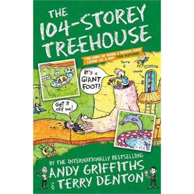 The 104-Storey Treehouse (Paperback) - Andy Griffiths