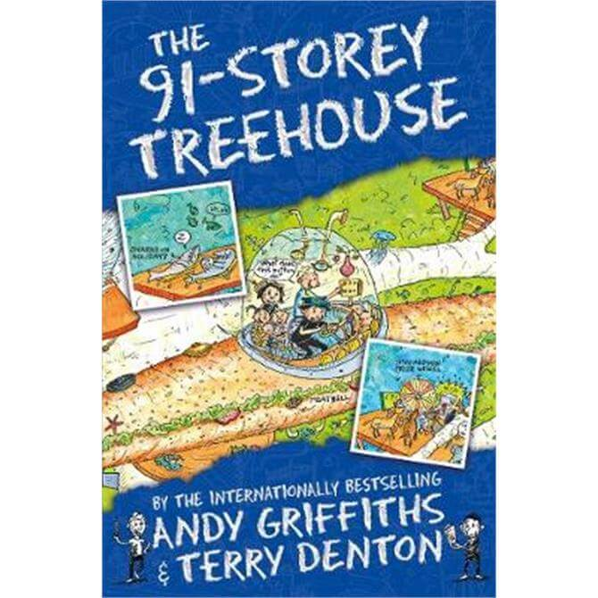 The 91-Storey Treehouse (Paperback) - Andy Griffiths